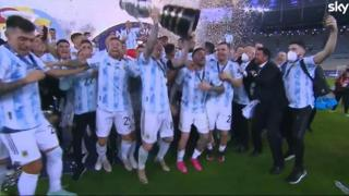 Finale Copa America, gli highlights della vittoria dell'Argentina sul Brasile