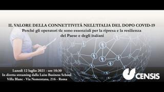 Il valore della connettività nell'Italia del dopo Covid-19