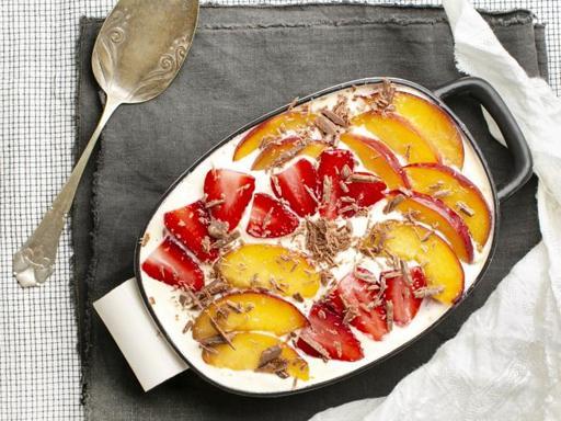 La ricetta del tiramisù alla frutta