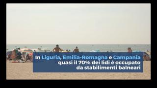 Spiagge negate, in Italia i lidi liberi sono sempre meno: ecco in numeri