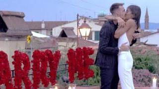 Gaetano Castrovilli, la proposta di matrimonio all'ex Miss Italia Rachele Risaliti
