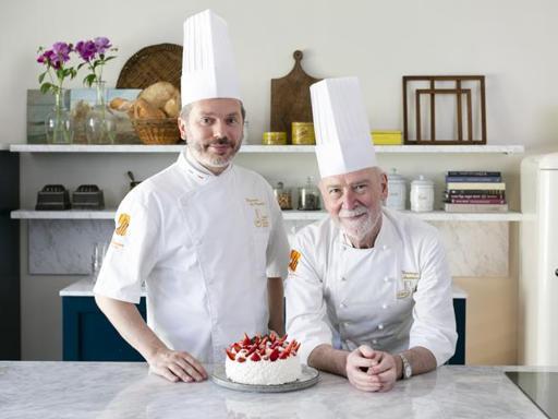La torta meringata della «Pasticceria Martesana» di Milano