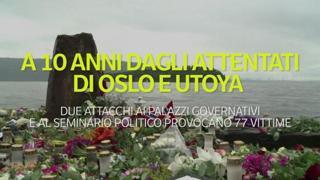 Dieci anni dagli attentati di Oslo e Utoya
