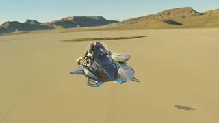 Jetpack Aviation Speeder: arriva la moto volante che viaggia 480 km/h