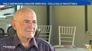 Green pass, Modiano: «Il paragone con la stella gialla è inaccettabile»