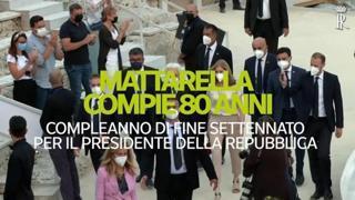Mattarella compie 80 anni: «Auguri presidente!»