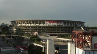 Tokyo2020, lo stadio semideserto poco prima dell'inaugurazione dei Giochi