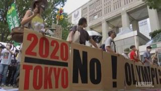 Tokyo2020, le contestazioni contro i Giochi: «No alle Olimpiadi»