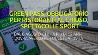 Green pass obbligatorio, le nuove regole dal 6 agosto:
