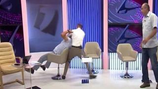 Moldavia: botte da orbi durante il dibattito tra i politici in tv