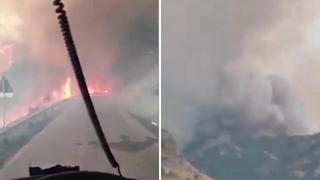 Il dramma della Sardegna, la provincia di Oristano avvolta dagli incendi