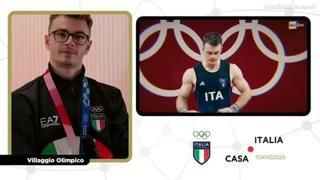 Zanni e il bronzo: «Dedico la medaglia a mio nonno, era con me in gara»