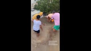 Il maltempo colpisce anche Formentera: allagata la casa di Vieri