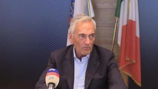 Calcio, Gravina: «Valutiamo il Green Pass anche per i calciatori»