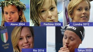 Federica Pellegrini, da Atene 2004 a Tokyo 2020: come si è trasformata la «Divina»