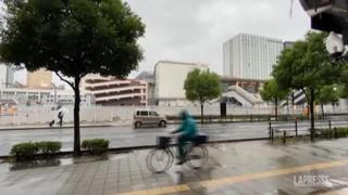 Giappone, il tifone lascia Tokyo e colpisce il nord del Paese