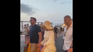Jennifer Lopez a Capri con Ben Affleck
