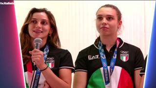 Il bronzo delle ragazze della spada: «Siamo una squadra vera»