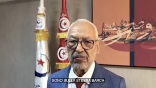 Ghannouchi: «Se in Tunisia non sarà ripristinata la democrazia, 500 mila migranti pronti a partire per l'Italia»