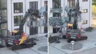 Germania, gli devono 5 milioni di euro: impresario edile distrugge il nuovo edificio