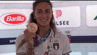 Simona Quadarella: «Non proprio come sognavo, ma volevo una medaglia. Il mio voto? Un bel 9»