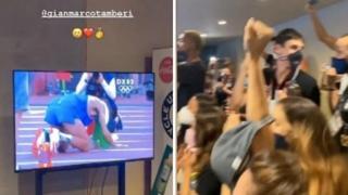 Casa Italia esplode di gioia alle vittorie di Tamberi e Jacobs
