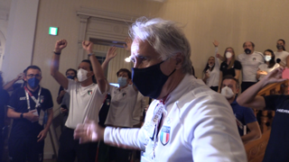 Malagò: «Jacobs e Tamberi hanno reso orgogliosi tutti italiani»