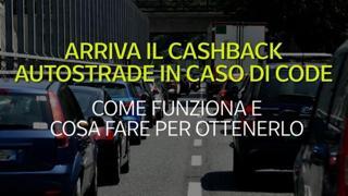Arriva il cashback autostrade in caso di code