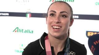 Vanessa Ferrari: «Puntavo all'oro, ma è arrivato un bellissimo argento. Più di così non potevo fare»
