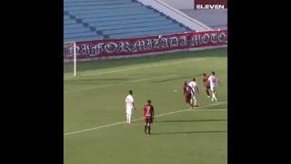 La punizione è disegnata: gol nel sette