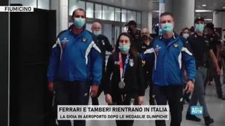Tokyo 2020, Vanessa Ferrari rientra in Italia dopo l'argento: «Non mi rendo ancora conto di quello che ho fatto»