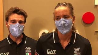 Tita e Banti: «Ci siamo conosciuti per caso, orgogliosi di essere la prima medaglia d'oro mista dell'Italia»