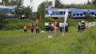 Repubblica Ceca, scontro tra due treni: almeno 2 morti