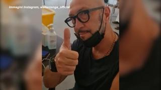 Walter Zenga si vaccina per la quarta volta a Dubai