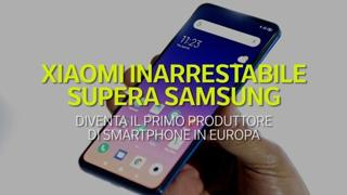 Xiaomi supera Samsung: è il primo produttore di smartphone in Europa