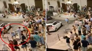 Movida a Ostuni, ex assessore alla polizia locale prende a bastonate una cassa