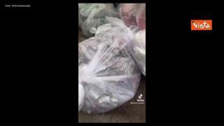 L'attivista che raccoglie rifiuti a New York: «Guardate che spreco»