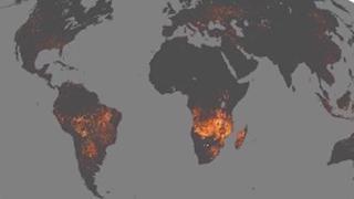 La mappa interattiva della Nasa che mostra gli incendi degli ultimi 20 anni