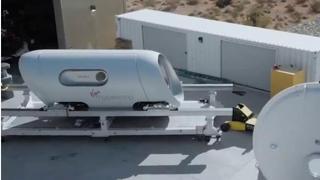 Virgin Hyperloop, il video-concept delle capsule del treno supersonico