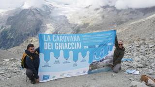 Legambiente: sul ghiacciaio dell'Adamello, che ogni anno si riduce