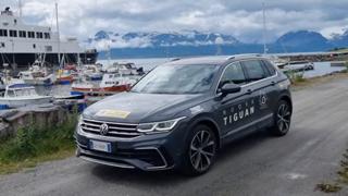 Con la Volkswagen Tiguan alla scoperta delle Lofoten