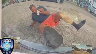 Finge di essere stato investito da un auto, a sua insaputa le telecamere della Tesla lo incastrano