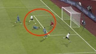 Timo Werner, «il giocatore con la peggior mira della Germania» sbaglia un'incredibile occasione da gol