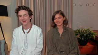 Chalamet e Zendaya: «Dune? Speriamo sia solo l'inizio»