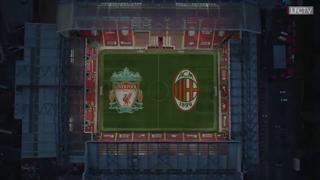 Il Liverpool omaggia il Milan con un video: «Due club ricchi di storia europea»