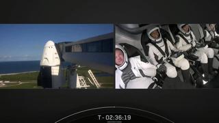 SpaceX, il lancio del Falcon 9: il primo volo spaziale con solo civili a bordo