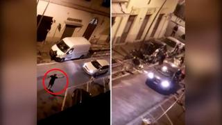 Pestaggi e spari in centro a Livorno: danni alle vetrine e alle auto in sosta