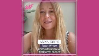 Il videomessaggio di Anna Jones ospite a Women in Food