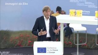 Ue, parte la Conferenza sul Futuro, Verhofstadt: «Qualcosa di storico»