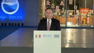 Transizione ecologica, Draghi: «Non c'è più tempo, non possiamo ritardare»